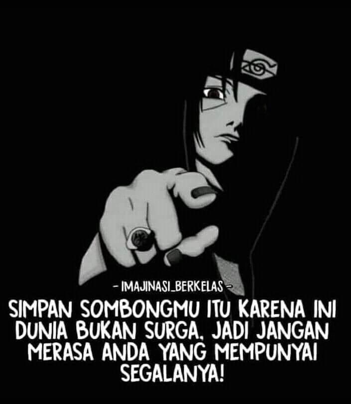 Kata Naruto tentang hidup © Instagram