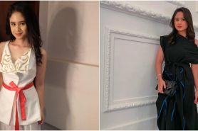 Biasa tomboi, ini 10 potret Tissa Biani tampil anggun pakai dress