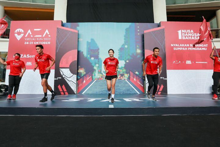Ribuan pelari seluruh Indonesia ikuti ajang virtual run ini, seru nih