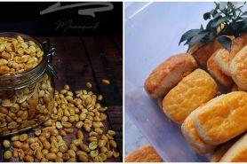 15 Resep camilan dari kacang tanah, enak, praktis dan kekinian