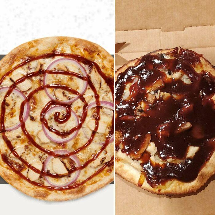 Realita makanan cepat saji © boredpanda