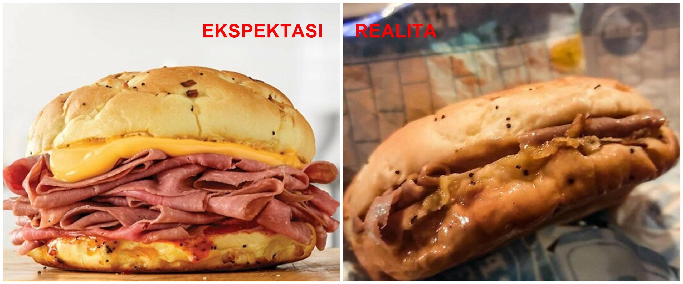 Realita vs ekspektasi 10 makanan cepat saji ini bikin lapar hilang