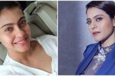 Pesona 10 seleb Bollywood usia 40-an tahun tanpa dan pakai makeup