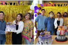 10 Momen ulang tahun Vanesha Prescilla ke-21, kuenya unik jadi sorotan