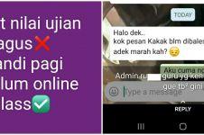 10 Status lucu siswa di WhatsApp ini endingnya bikin tepuk jidat