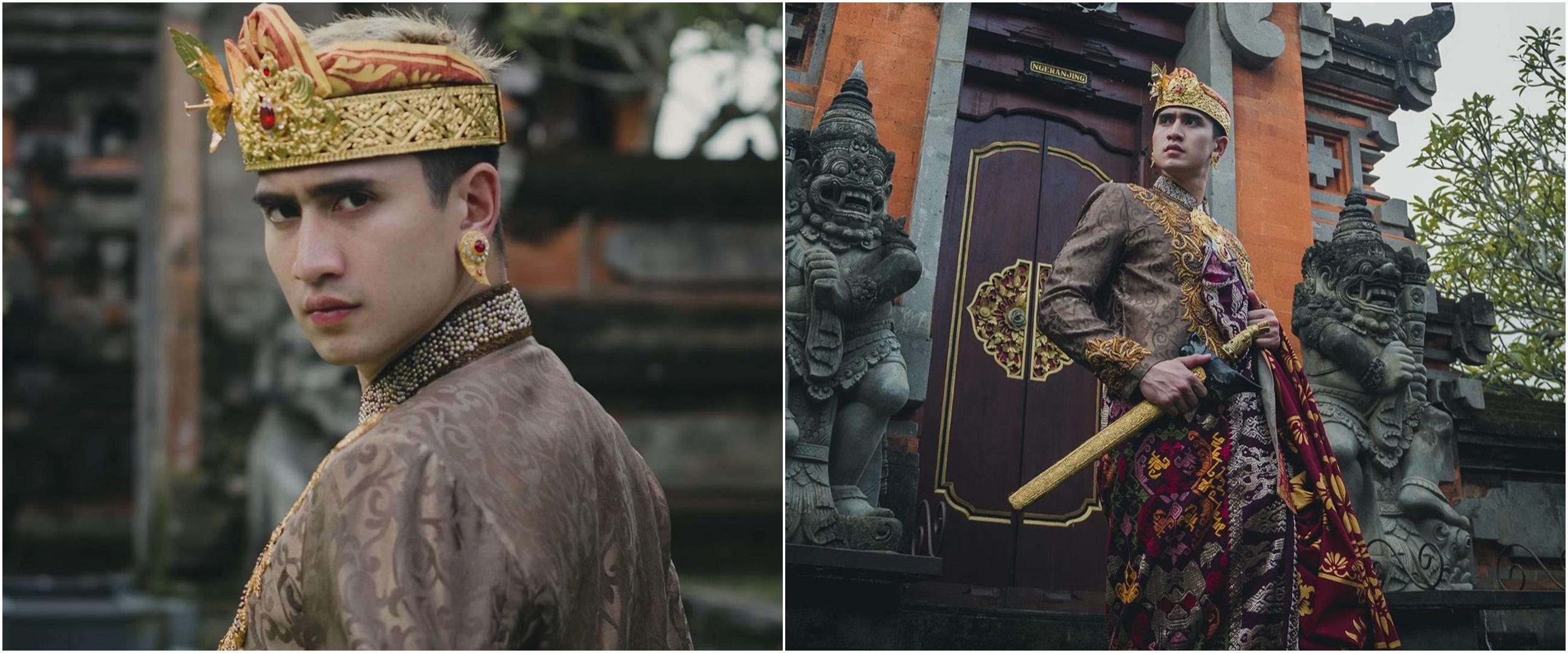 7 Potret Verrell Bramasta pakai baju adat Bali, gagah & memesona