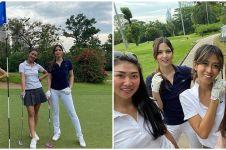 7 Potret Nia Ramadhani main golf bareng gengnya, gayanya memesona