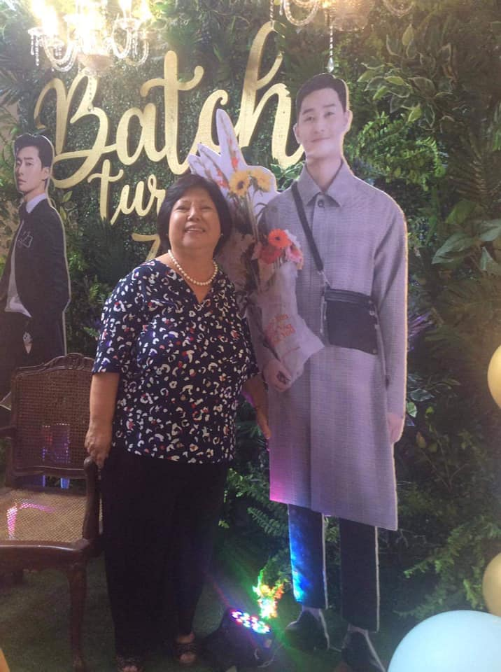 nenek rayakan ultah bareng park seo joon © Facebook
