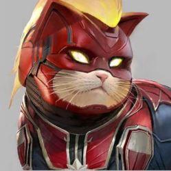 karakter super hero jadi kucing Instagram