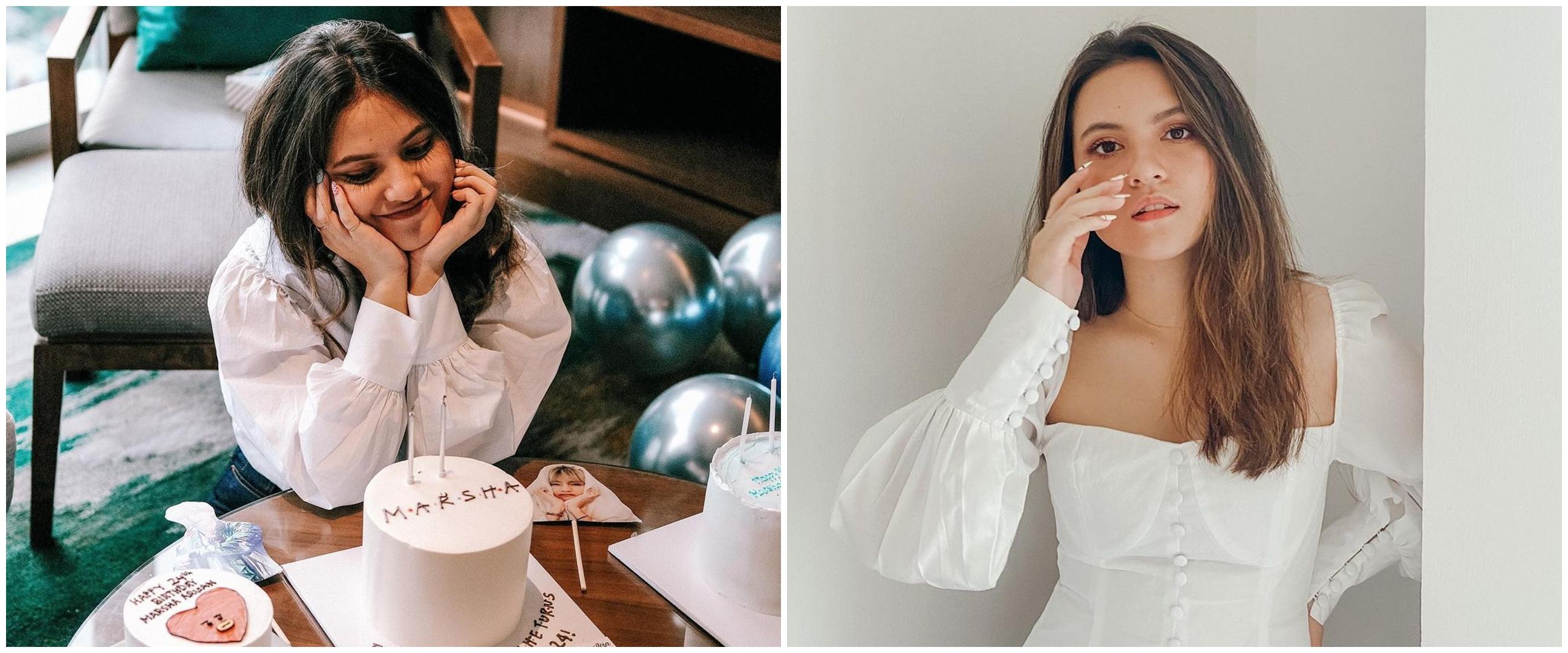 10 Momen kejutan ulang tahun Marsha Aruan ke-24, ada pernak pernik BTS