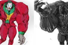 10 Potret absurd superhero diedit bak Hulk, auto geleng-geleng