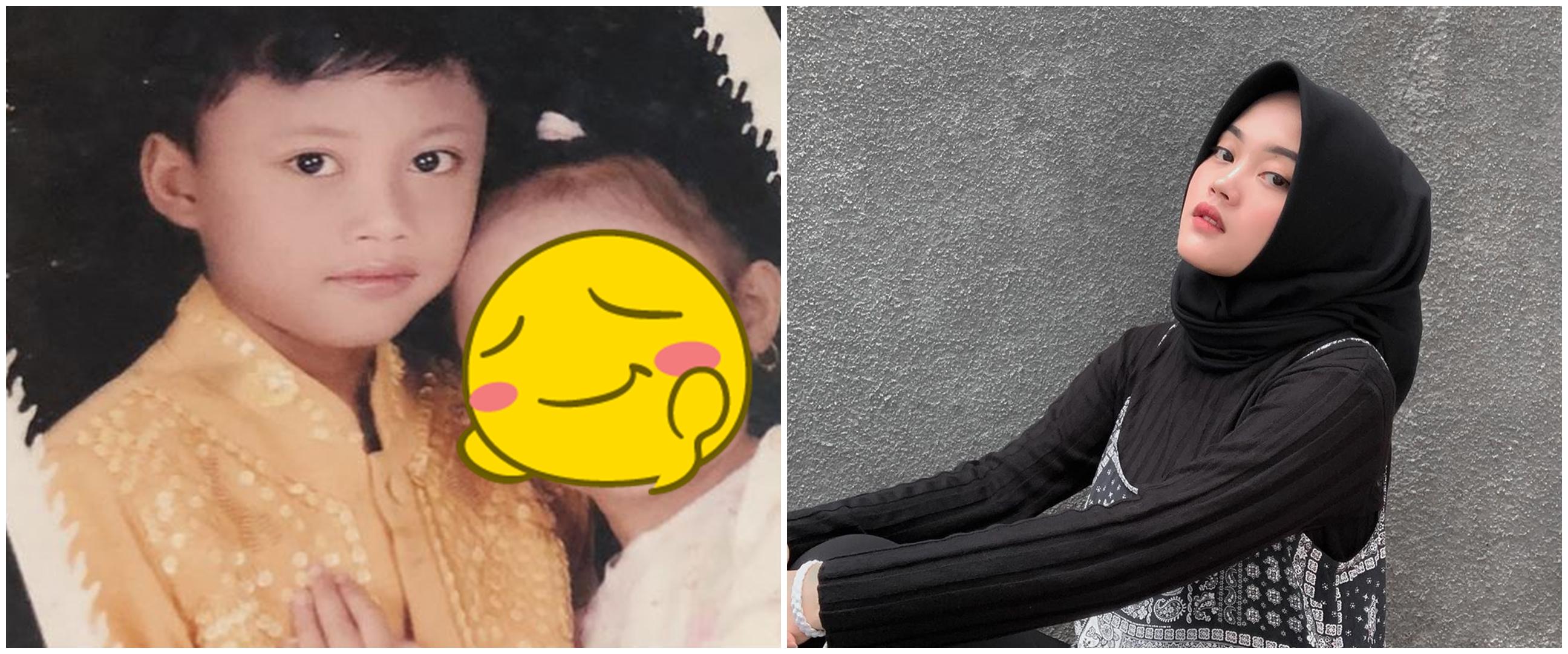 10 Transformasi Putri Delina anak Sule, cantik sejak kecil