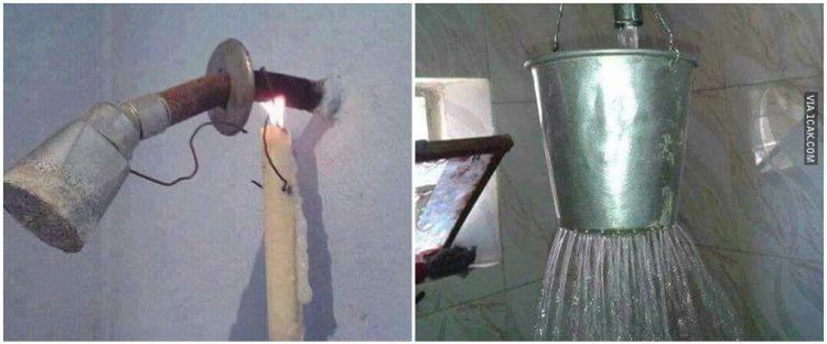 10 Desain shower kamar mandi ini bentuknya bikin nyengir kuda