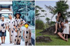 Momen 10 musisi Tanah Air liburan bareng keluarga, seru & hangat