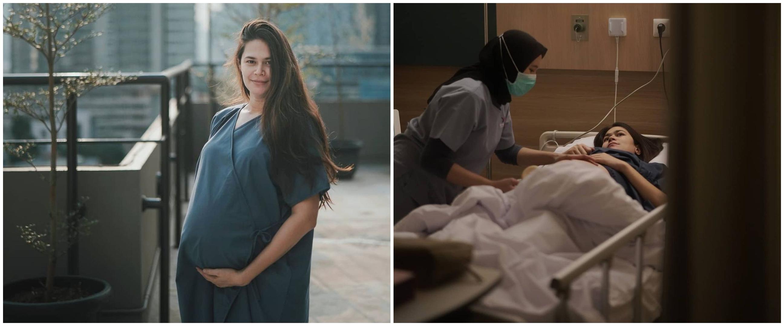 8 Momen Sabai Morscheck lahirkan anak kedua, penuh perjuangan