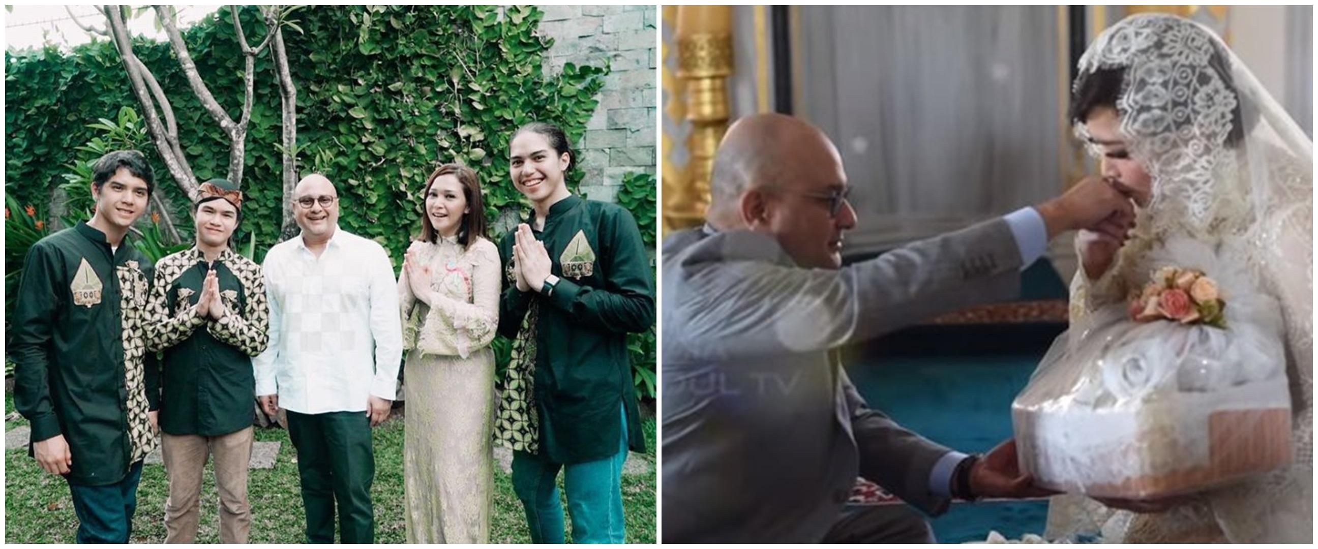 Maia bagikan 9 foto kenangan nikahannya dengan Irwan, penuh haru
