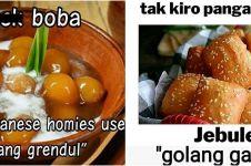 10 Meme makanan kekinian terinspirasi dari makanan tradisional, kocak