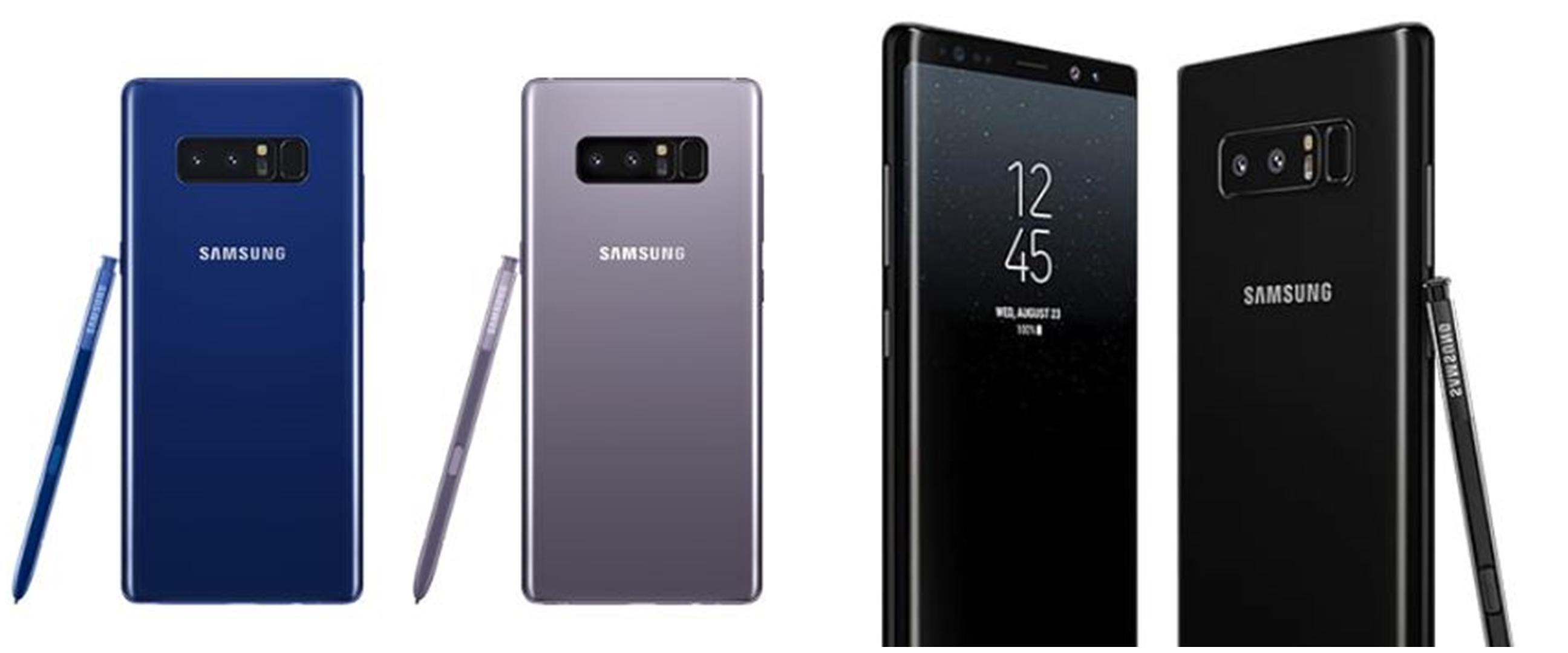 Harga Samsung Note8 serta spesifikasi, kelebihan, dan kekurangannya