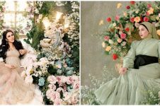 Pemotretan maternity 10 seleb bertema bunga, anggun dan elegan