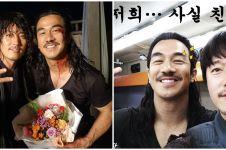 Bintangi The Swordsman, ini 7 potret kompak Joe Taslim & Jang Hyuk