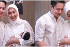10 Momen akikah Seraphine putri Kevin Lilliana, penuh kehangatan