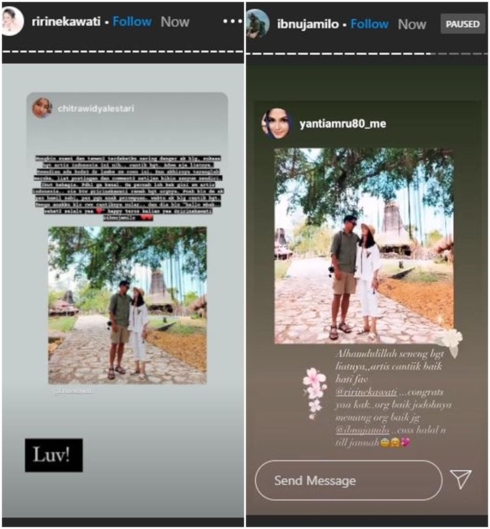 Ririn Ekawati dan Ibnu Jamil © 2020 brilio.net