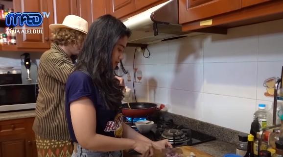 Momen Tissa Biani bertemu Maia Estianty © YouTube