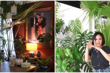 10 Potret rumah Yuni Shara yang dipenuhi tanaman, dapur jadi sorotan