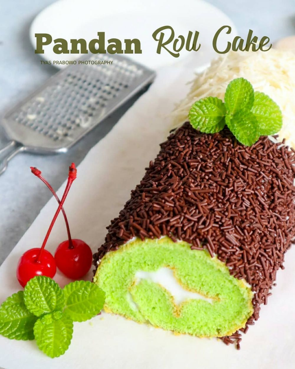 resep bolu pandan © Instagram