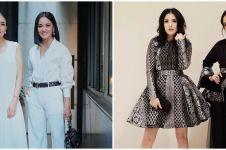 10 Potret persahabatan Ririn Ekawati dan Nindy Ayunda, gayanya kompak