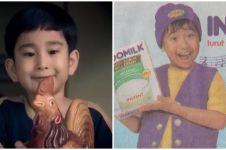 Beda penampilan 5 bintang iklan susu dulu dan kini, bikin pangling