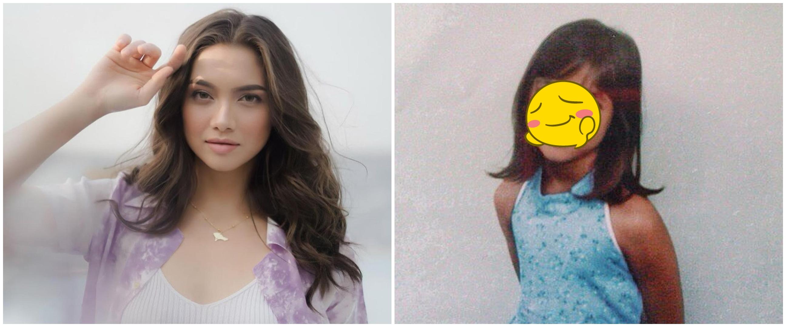 10 Potret masa kecil Angela Gilsha, senyumannya khas banget