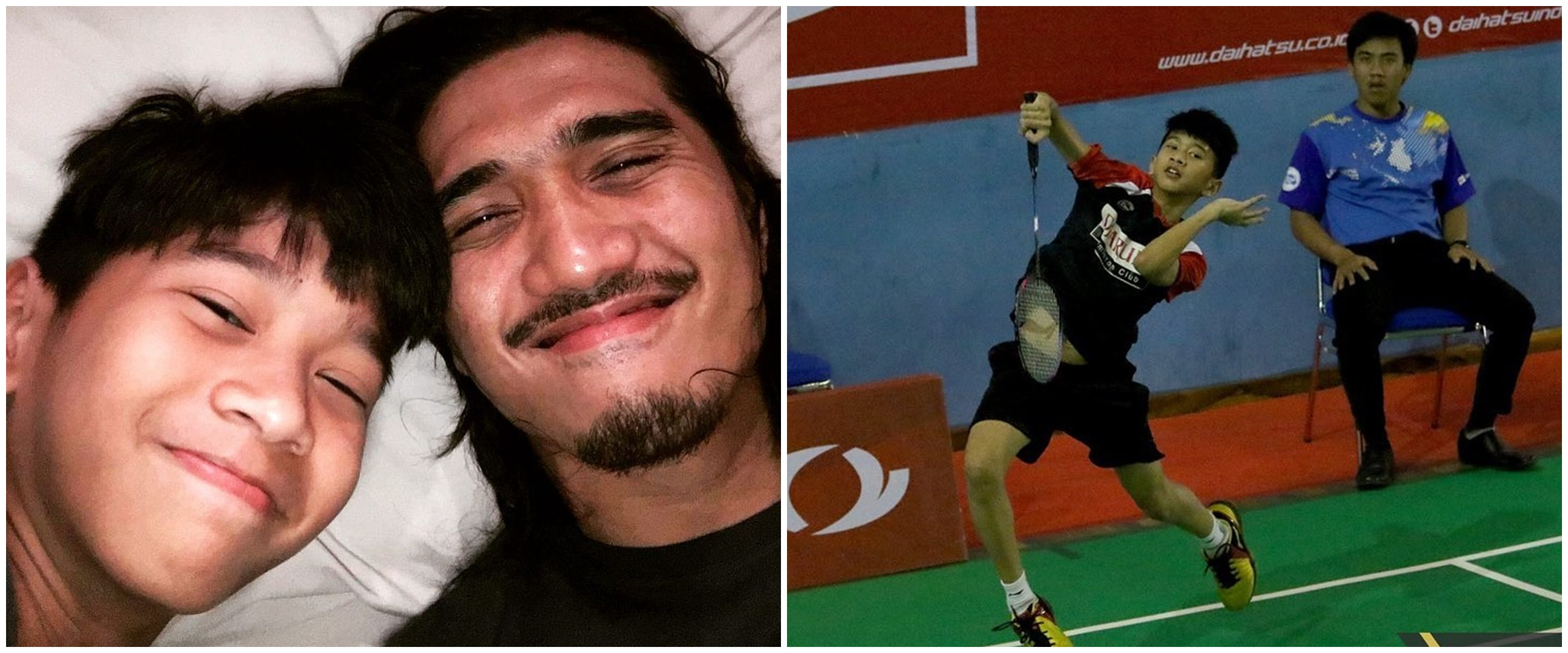 10 Potret Bima, anak Duta 'Sheila on 7' yang jadi atlet badminton