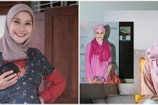 8 Potret Zaskia Adya Mecca tirukan gaya hijab jadul, hasilnya unik