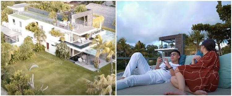 10 Potret villa mini honeymoon Nikita Willy dan Indra Priawan, megah