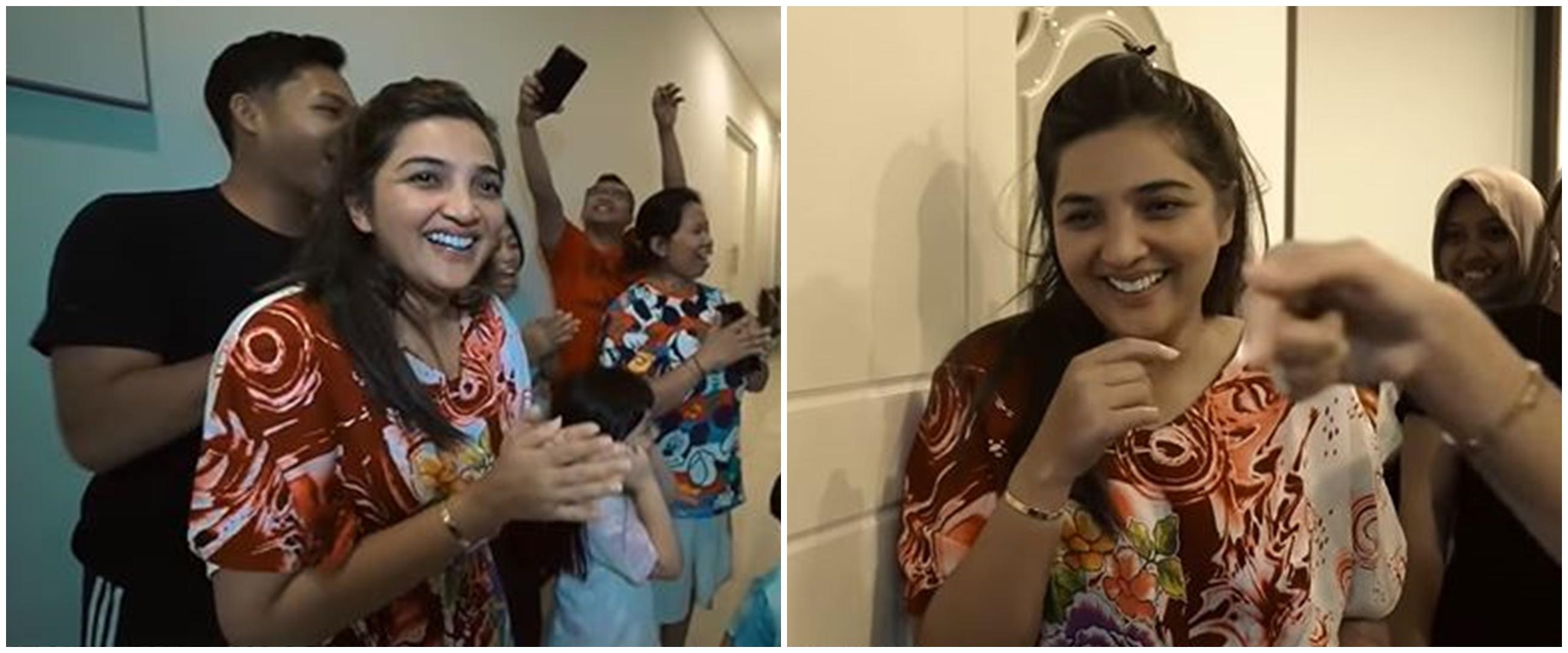 10 Momen kejutan ulang tahun Ashanty, kuenya curi perhatian