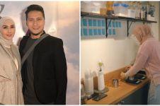 8 Potret kedai kopi Fenita Arie yang dibangun di depan rumah