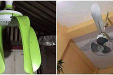 10 Desain nyeleneh kipas angin gantung ini bikin makin gerah