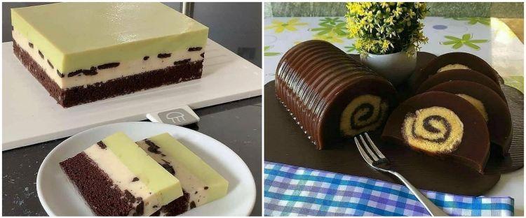 20 Resep puding cake, enak, kenyal, empuk dan mudah dibuat