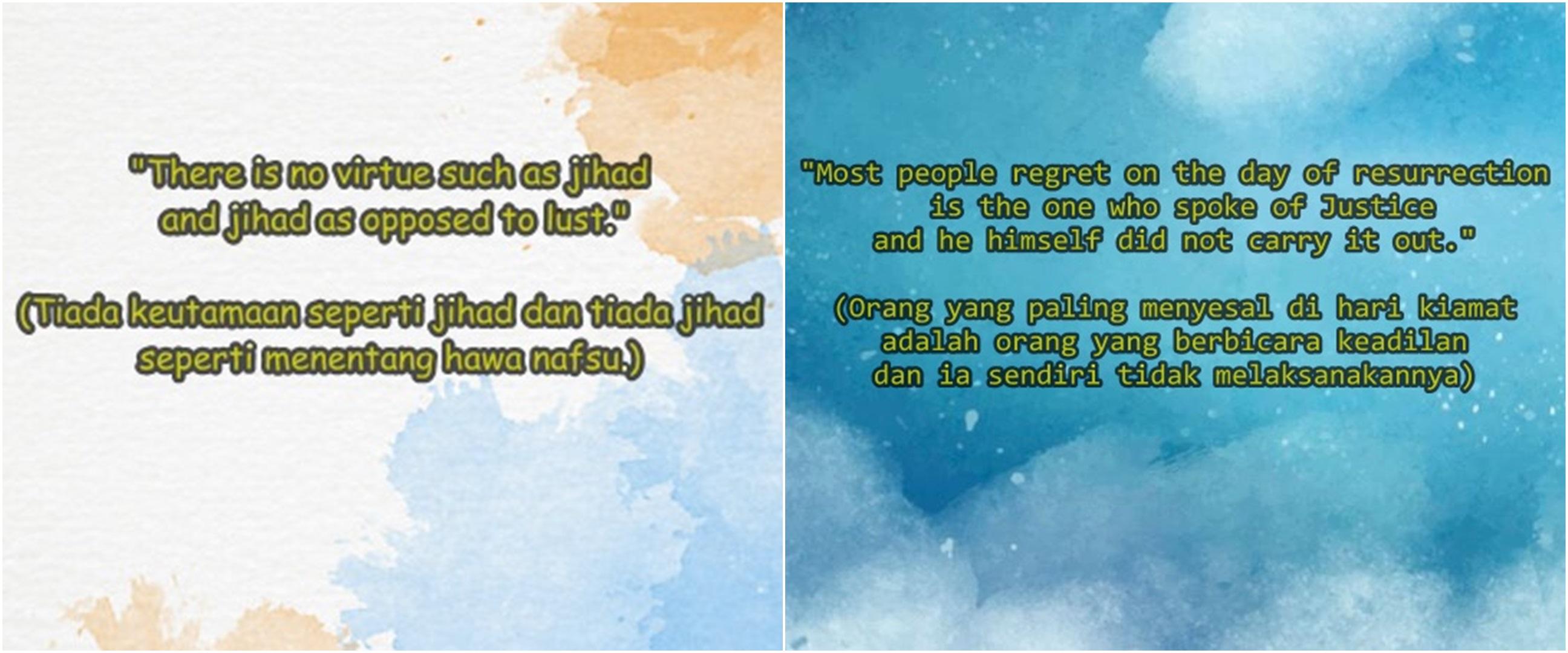 40 Kata-kata mutiara Islami bahasa Inggris dan artinya, penuh makna