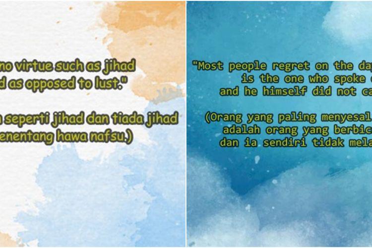 40 Kata Kata Mutiara Islami Bahasa Inggris Dan Artinya Penuh Mak