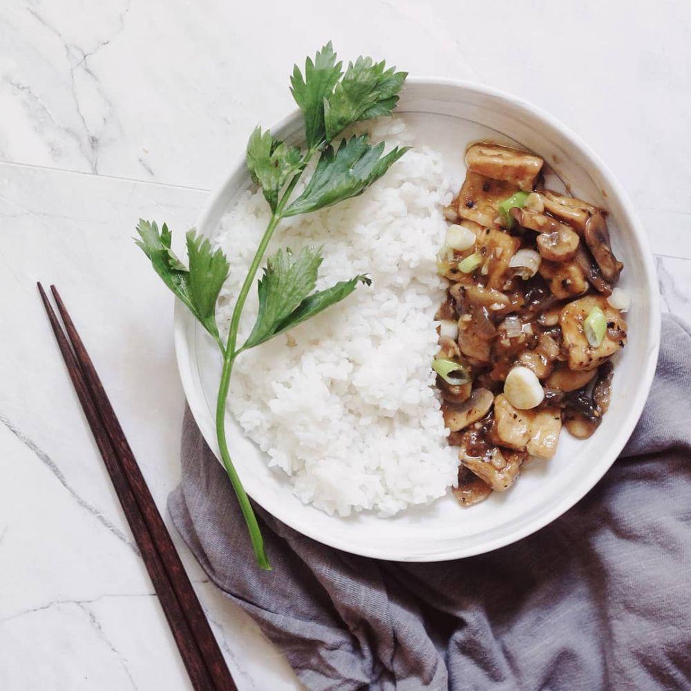 Resep lauk berbahan jamur © Instagram