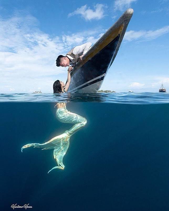 seleb pemotretan jadi mermaid © 2020 brilio.net