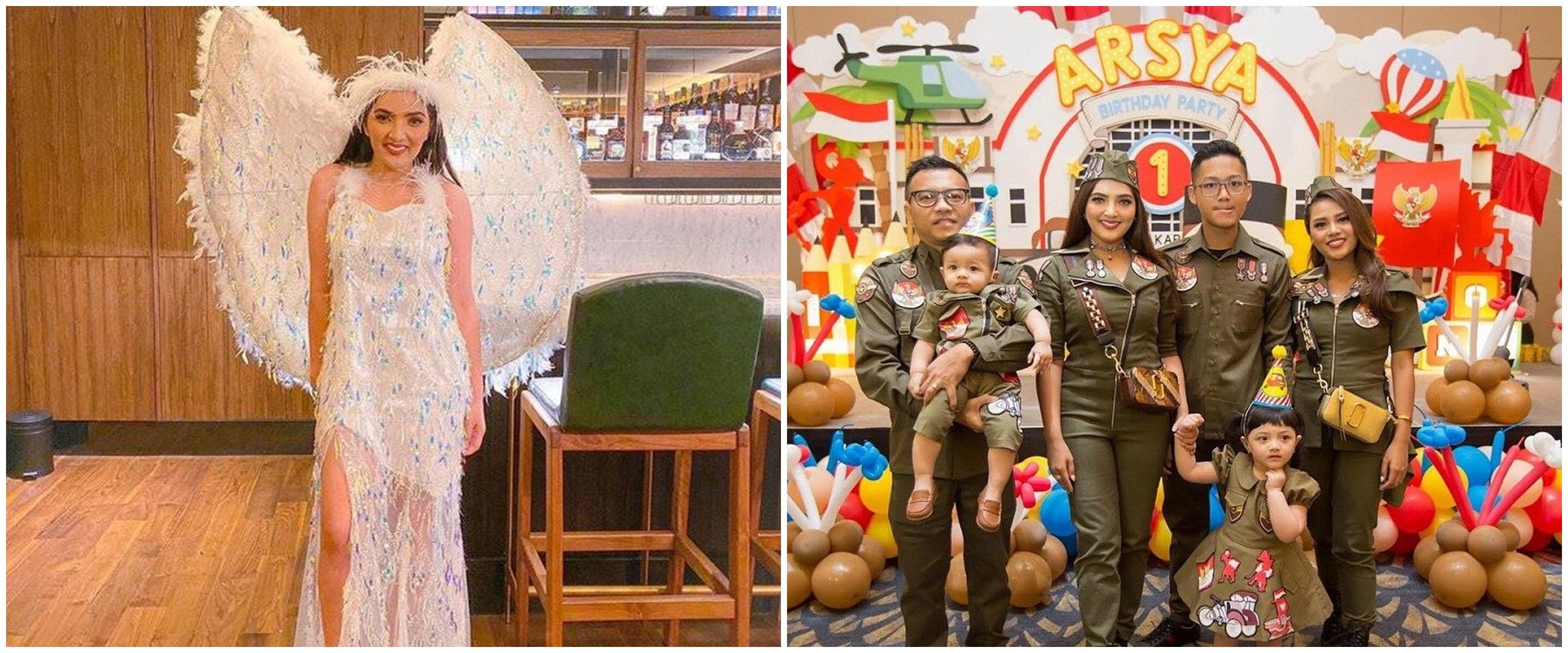 10 Potret tema pesta ultah keluarga Anang & Ashanty, glamor dan meriah