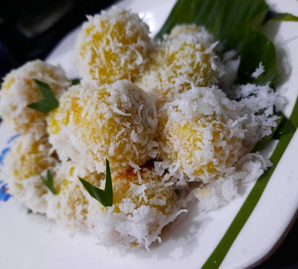 Resep camilan ubi jalar kuning © Instagram