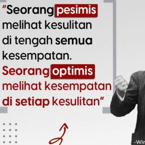 111 Kata-kata bijak optimistis menatap masa depan, bangkitkan semangat