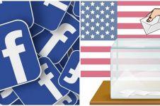 Facebook akan umumkan hasil Pilpres AS via notifikasi FB dan Instagram