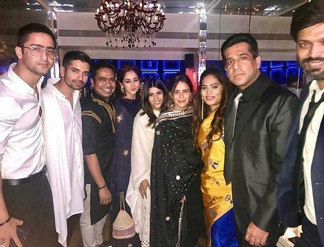 Shaheer Sheikh dan Ruchikaa Kapoor © Instagram
