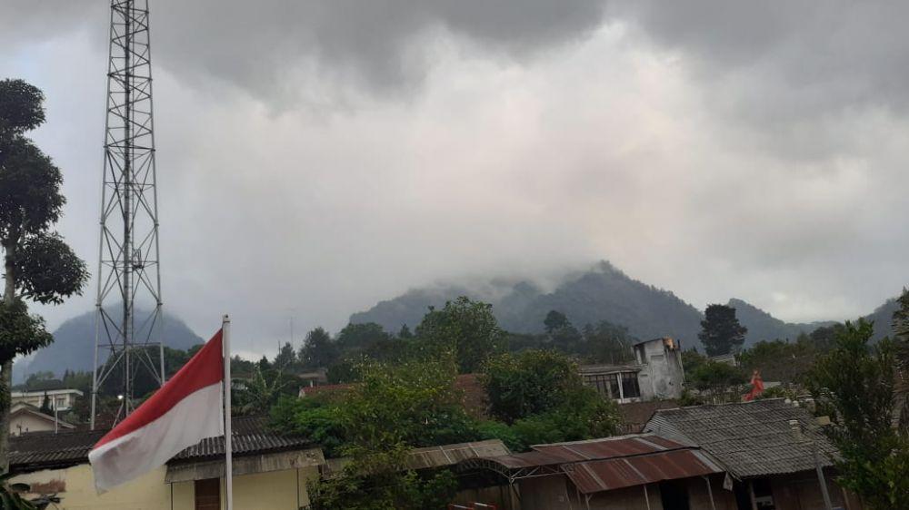 Merapi 7 November © Twitter