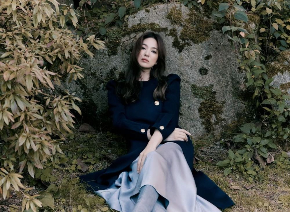 pemotretan Song Hye-kyo terbaru © Instagram